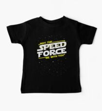 May The Speed Force Be With You Kids Clothes