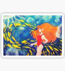 ponyo - the call of the sea Sticker