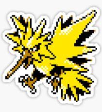Zapdos GSC Sprite Pokémon Sticker