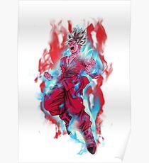 Póster DBS - Goku SSB Kaioken x20