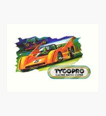 Tyco Racecar Art Print