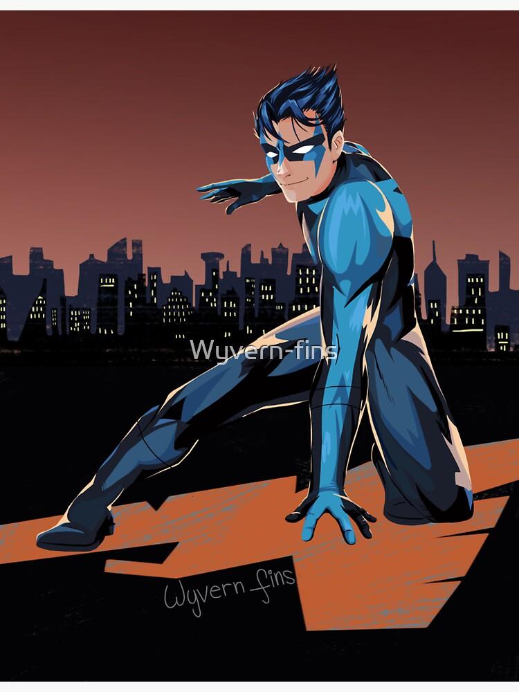 Nightwing by Wyvern-fins