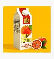 pulp fiction juice box Photographic Print