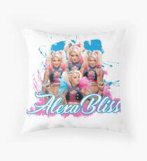 Alexa Bliss  Throw Pillow