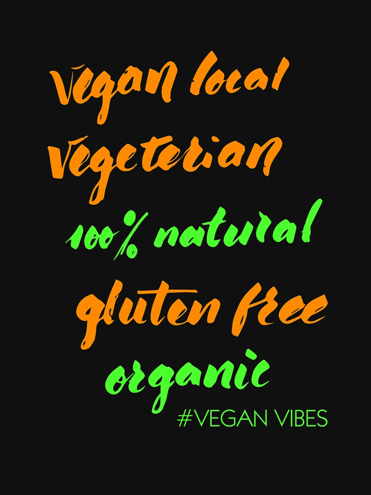 Organic Natural Vegan Tee by SoulProducts