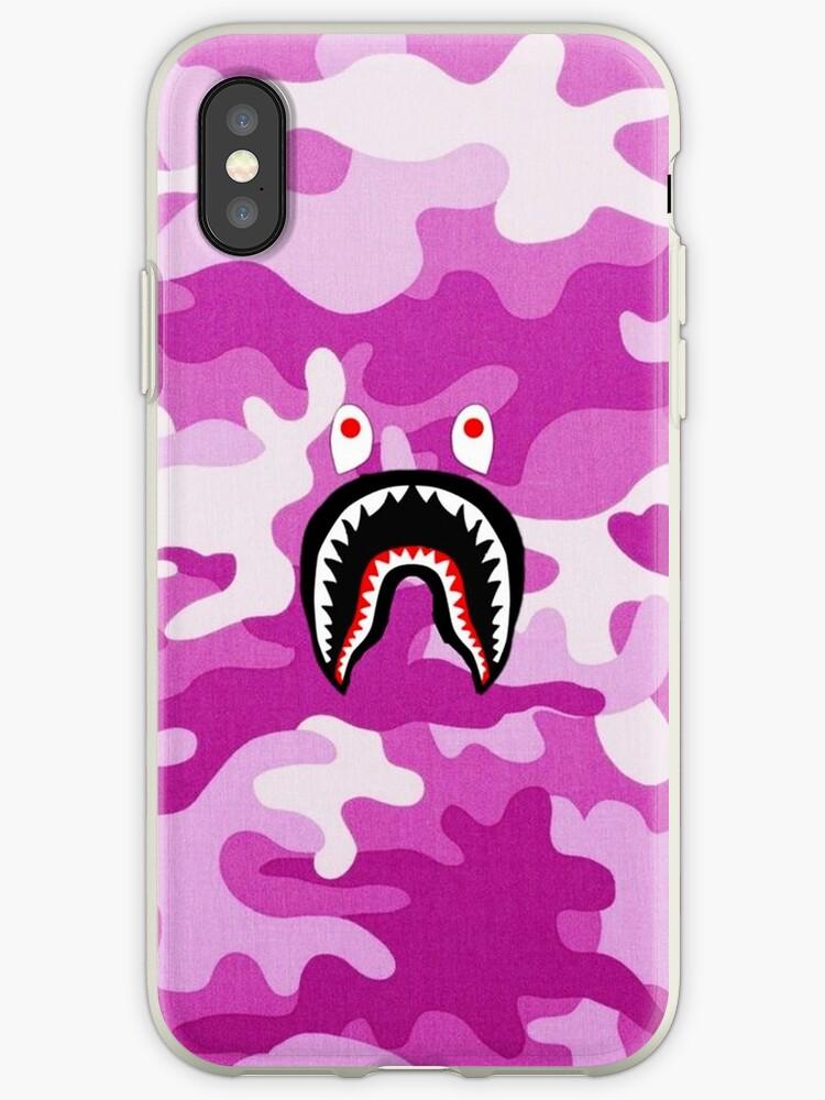 Pink Bape Shark by ManuelDaniels