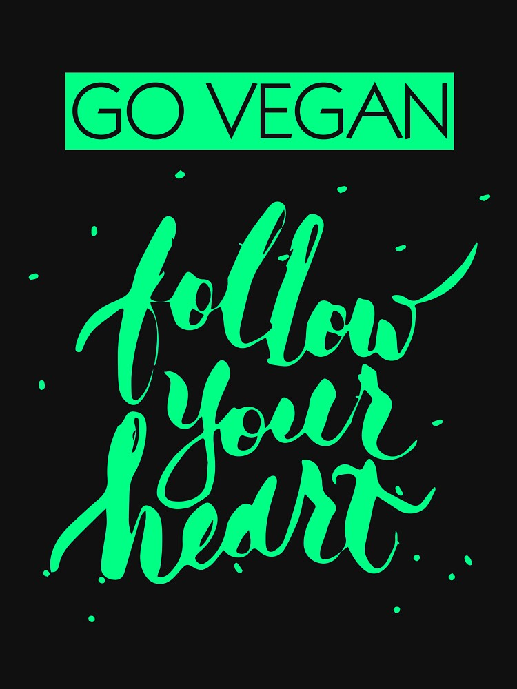Follow your heart vegan gift idea by SoulProducts
