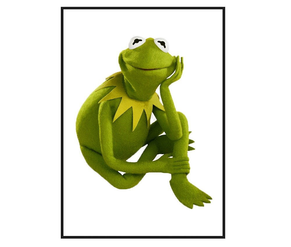 Kermit is thinking about you by FlavourTown