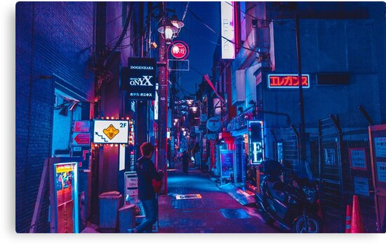 Tokyo Glow by livelybugs