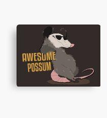 Awesome Possum Canvas Print