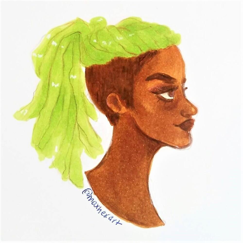 Lime Locs by maxhexart