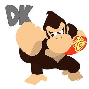Donkey Kong - 02 Minimalist by Alseias
