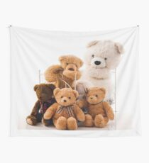 Teddy Bears Wall Tapestry