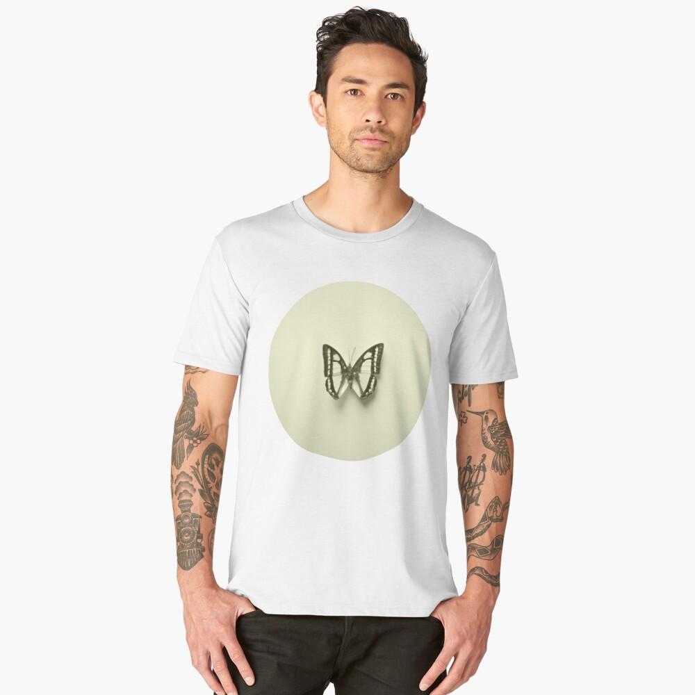 CL - Yellow Men's Premium T-Shirt Front