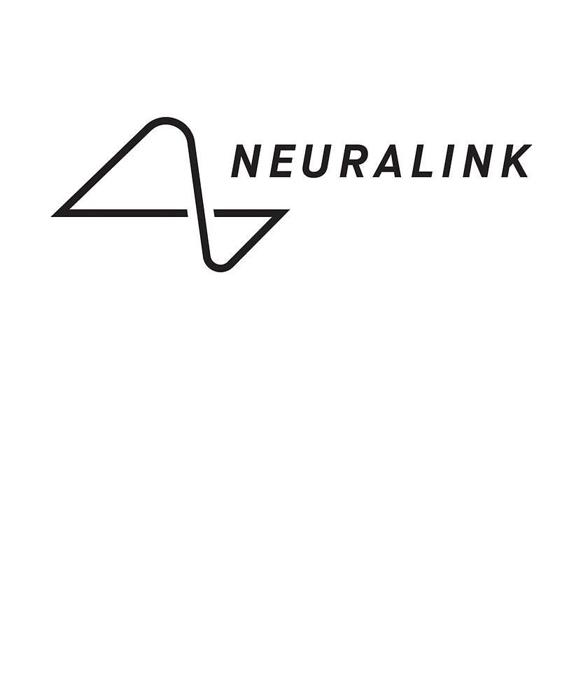 Neuralink T-shirt Elon Musk by Rogersdesign