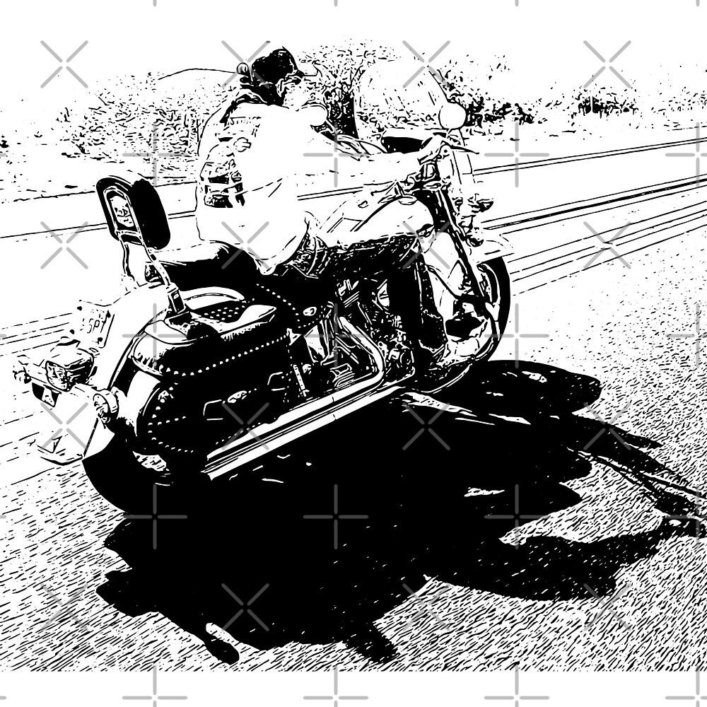 Death rides beside by AK-B