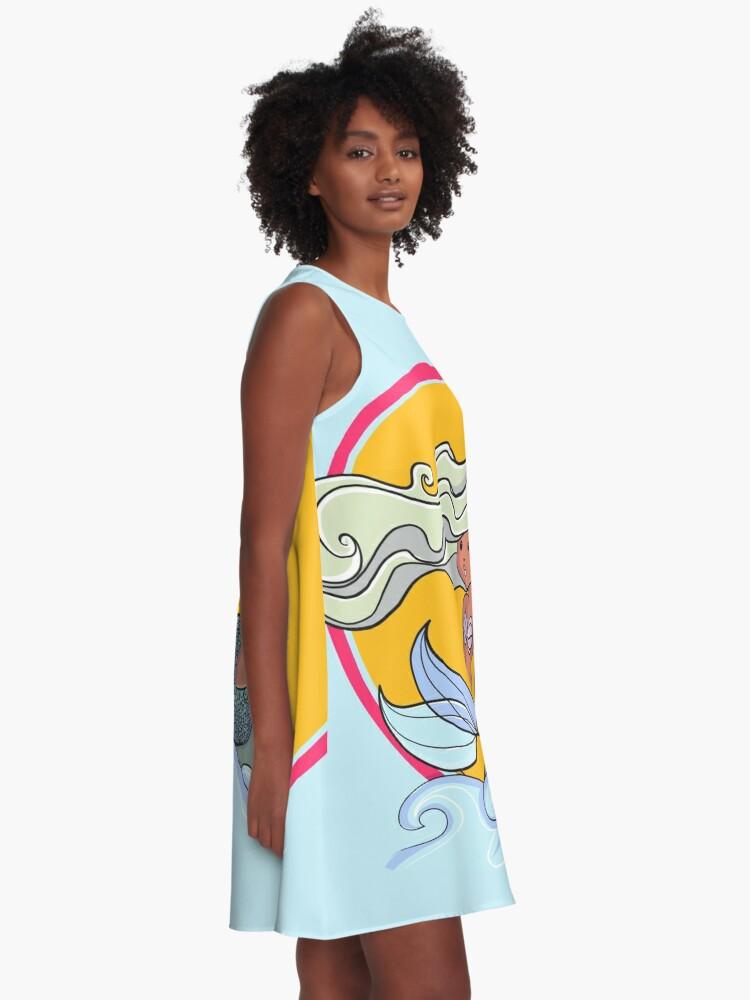Alternate view of Sunset Mermaid A-Line Dress