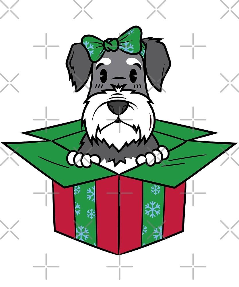 Funny Dachshund Xmas Present Christmas by ilovepaws