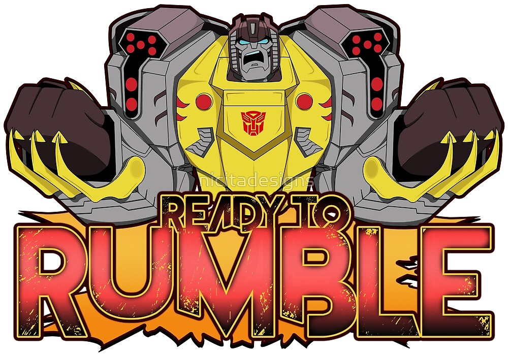 Transformers Cyberverse Grimlock Ready to Rumble  by nicitadesigns