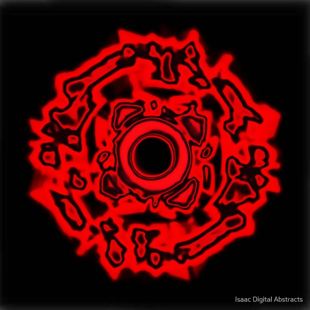 Lava Circle by Isaac Vision