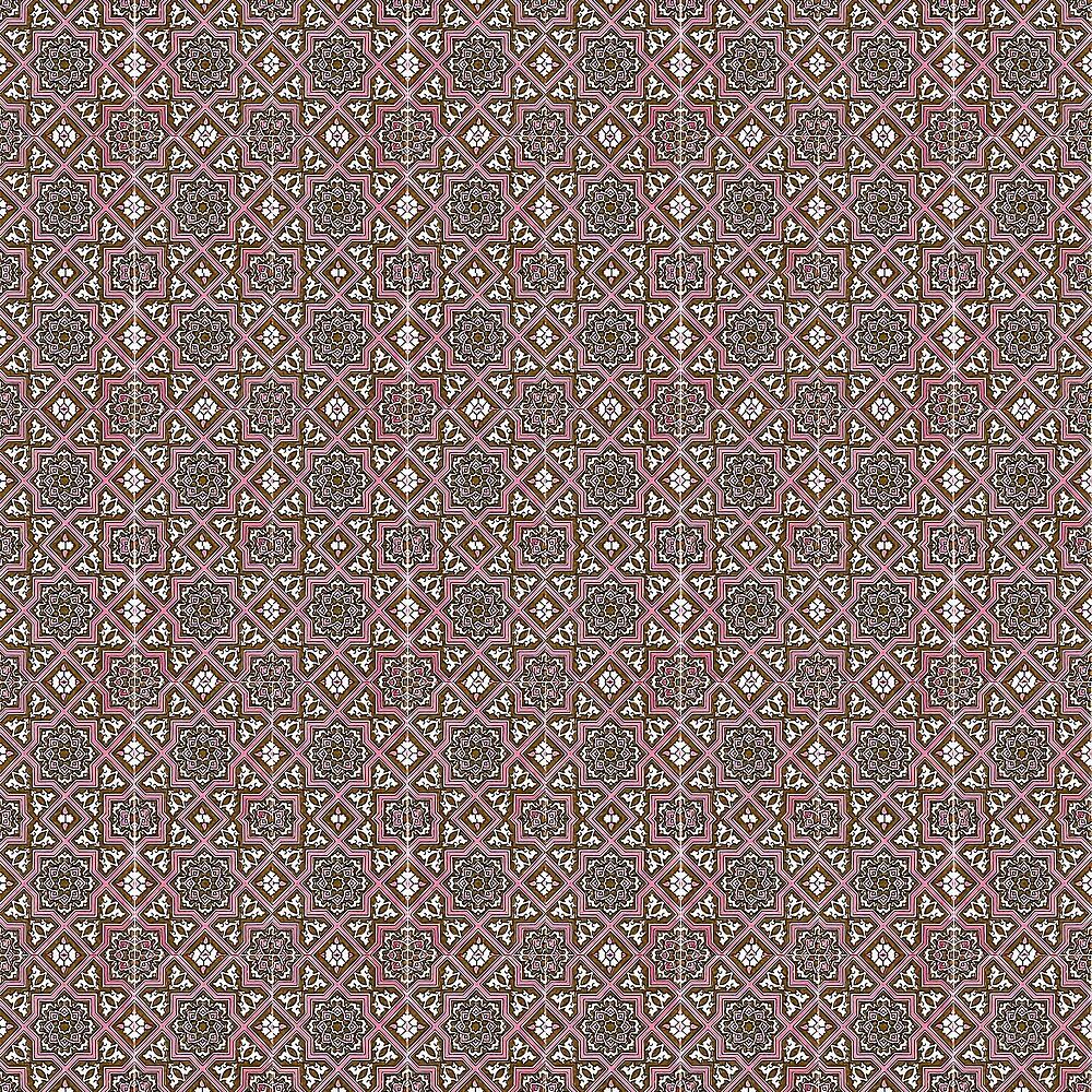 Azulejo, Geometric Pattern by Andrea Mazzocchetti