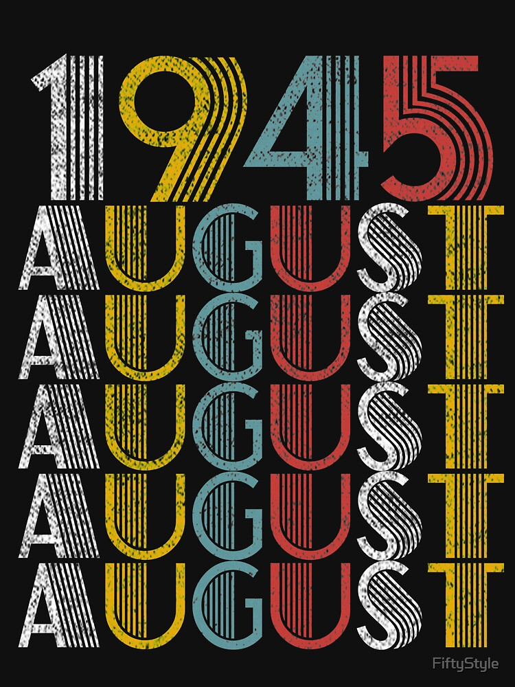 Vintage August 1945 Birthday Gifts by FiftyStyle
