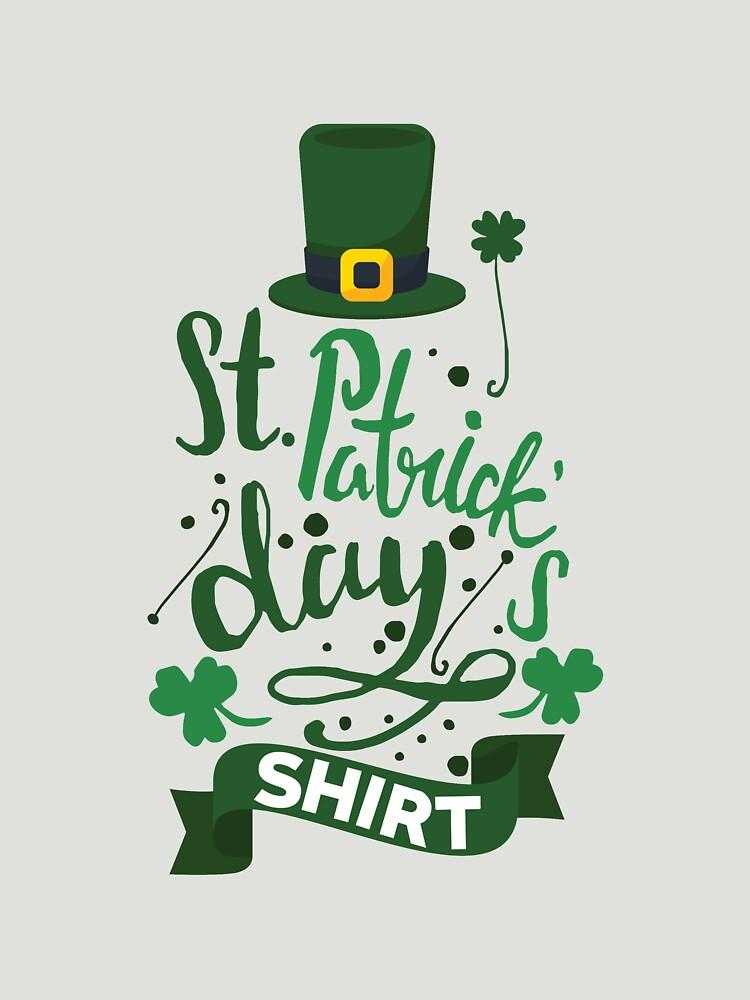 St Patrick's Day Shirt For Men Women Boys & Girls by artbyanave