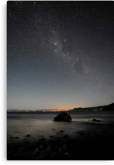 The Milky Way lights up the sky above Matarangi by Paul Mercer