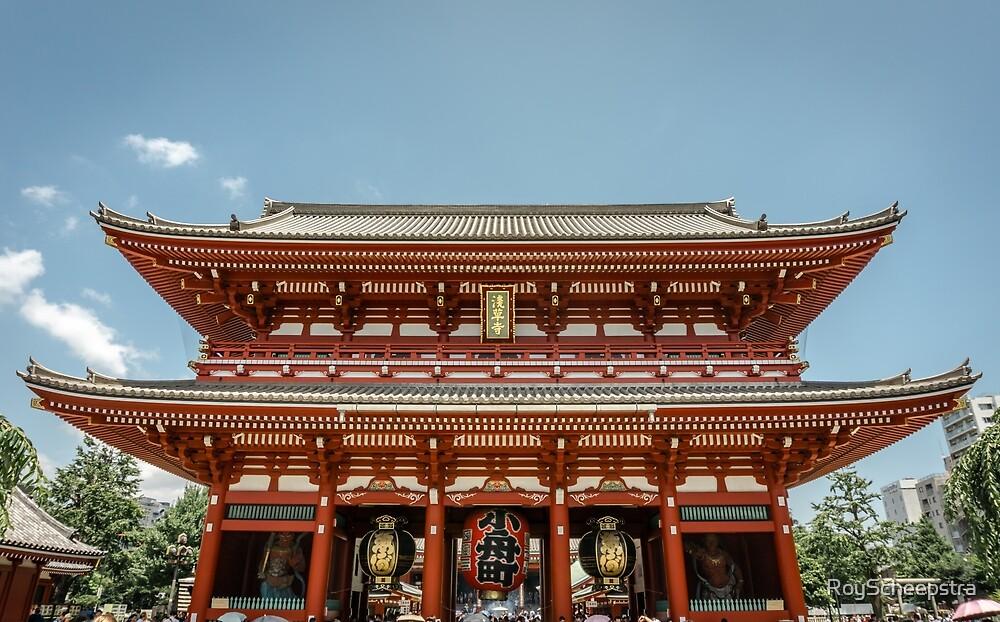 Senso-ji temple by RoyScheepstra