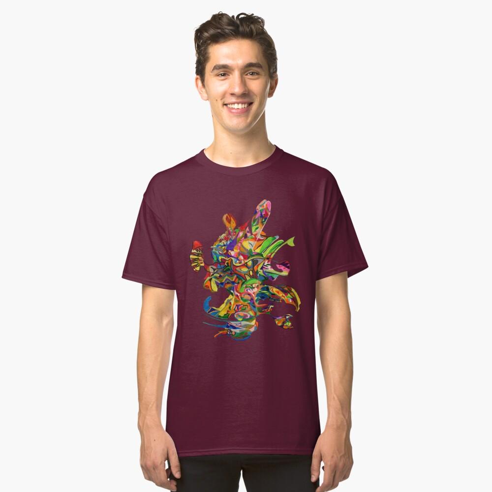 Dark Fragments No. 10b Classic T-Shirt Front