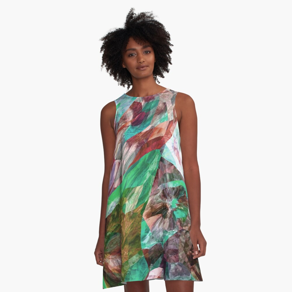 Stand Out In The Crowd NOW 16. A-Line Dress Front