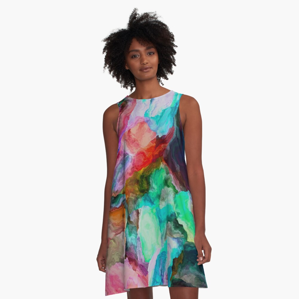 Stand Out In The Crowd NOW 19. A-Line Dress Front
