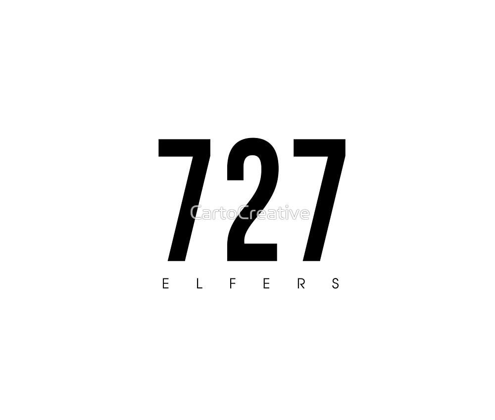 Elfers, FL - 727 Area Code design by CartoCreative