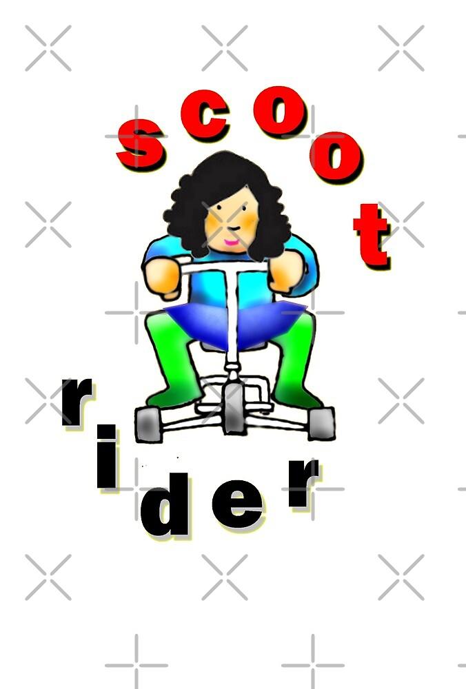 Scoot rider - hers by klimse