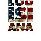 Louisiana-Geschenk geboren und hob starkes ehrfürchtiges Entwurfs-Geschenk Amerika an von djpraxis