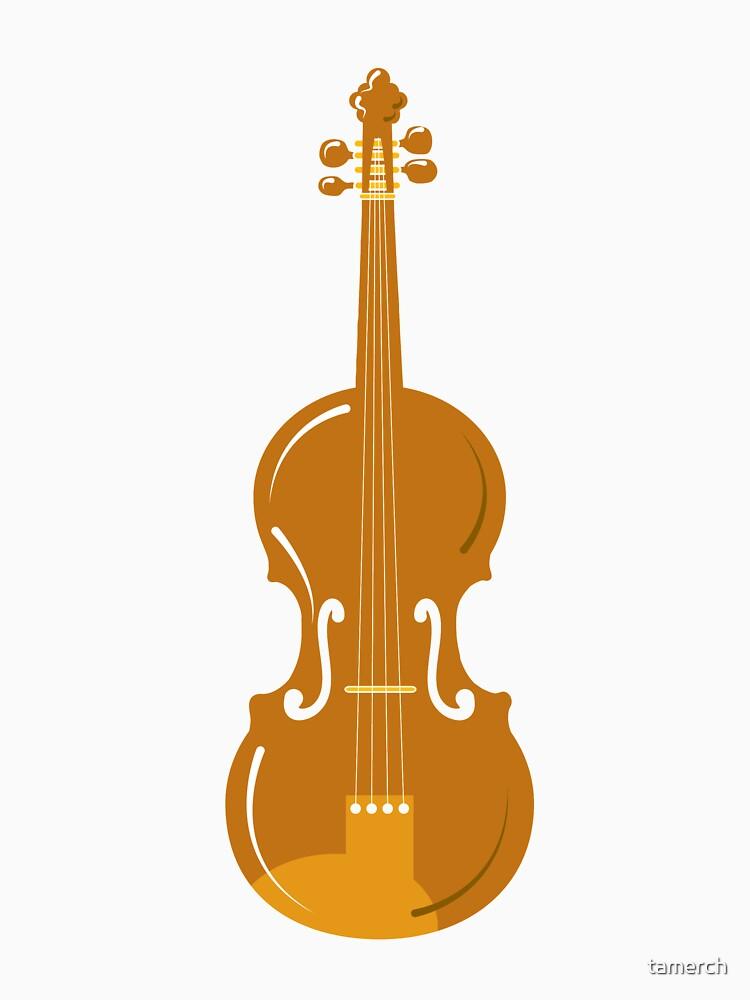 Violin drawing children illustration violin by tamerch