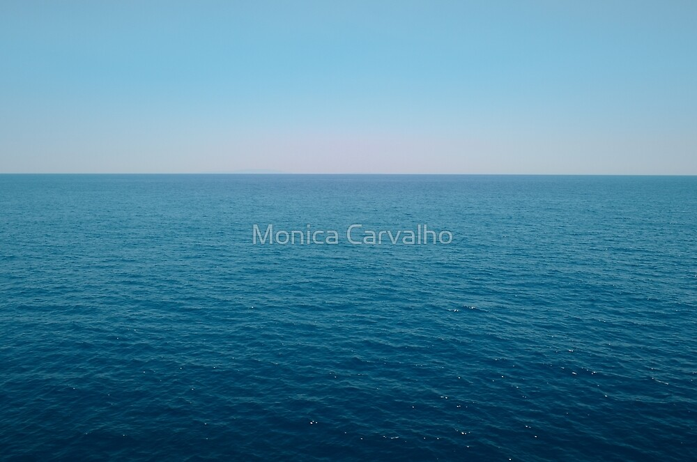 Sea Horizon in Portugal by Monica Carvalho (mofart_photomontages)