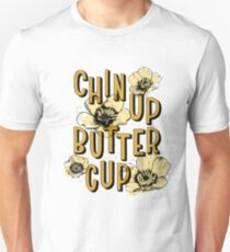 Chin Up Butter Cup Slim Fit T-Shirt