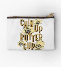 Chin Up Butter Cup Zipper Pouch