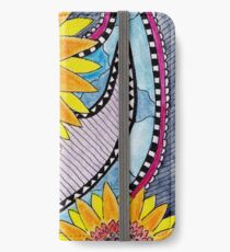 Santana's Sunflowers iPhone Wallet/Case/Skin