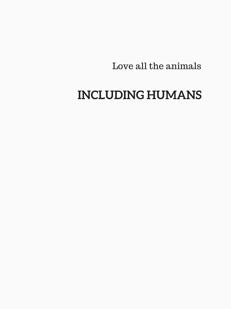 Love all the animals by veganchickpea