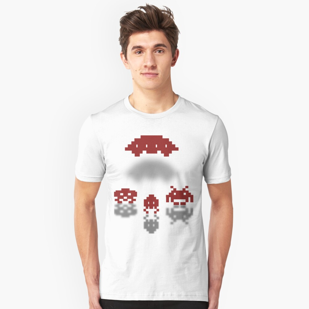 SPace Invaders Unisex T-Shirt Front