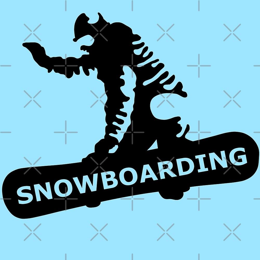 Snowboardin by Sibo Miller