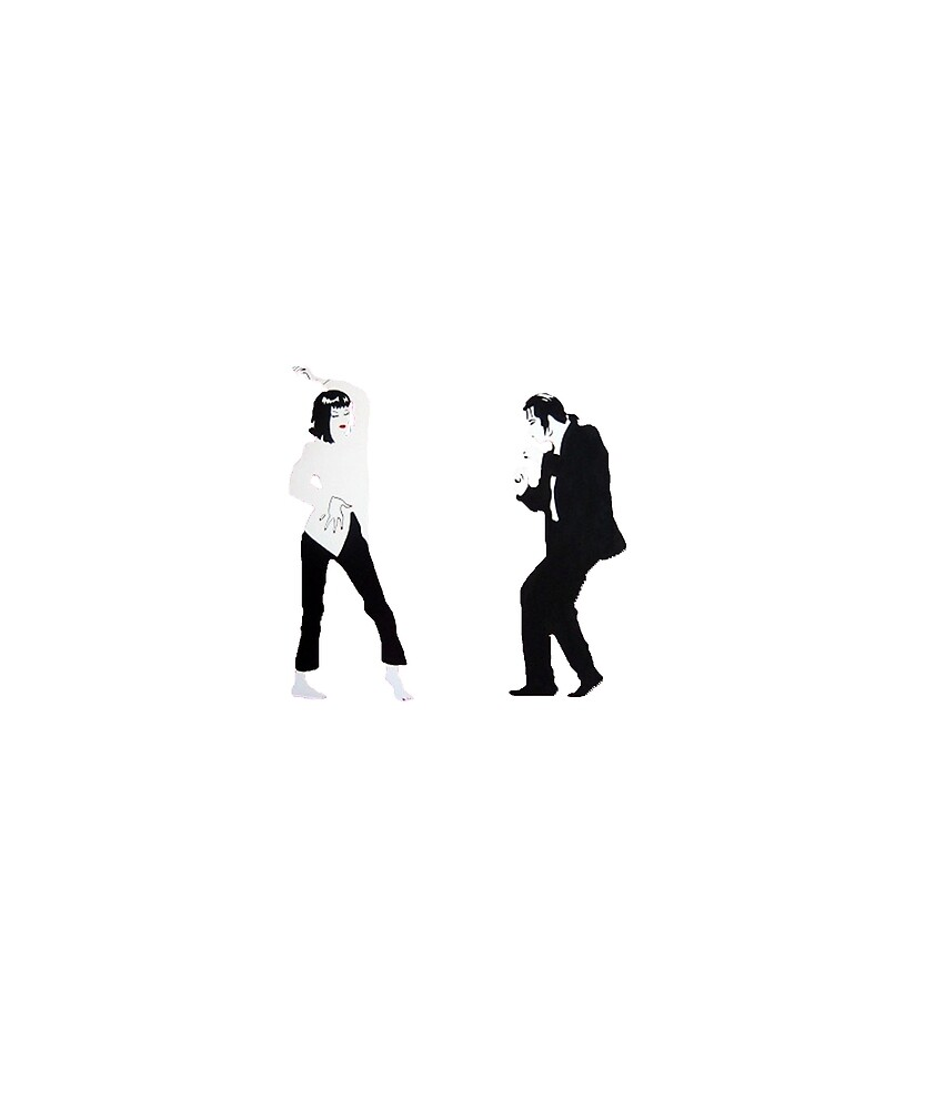 Pulp Fiction Dancing by Rogersdesign