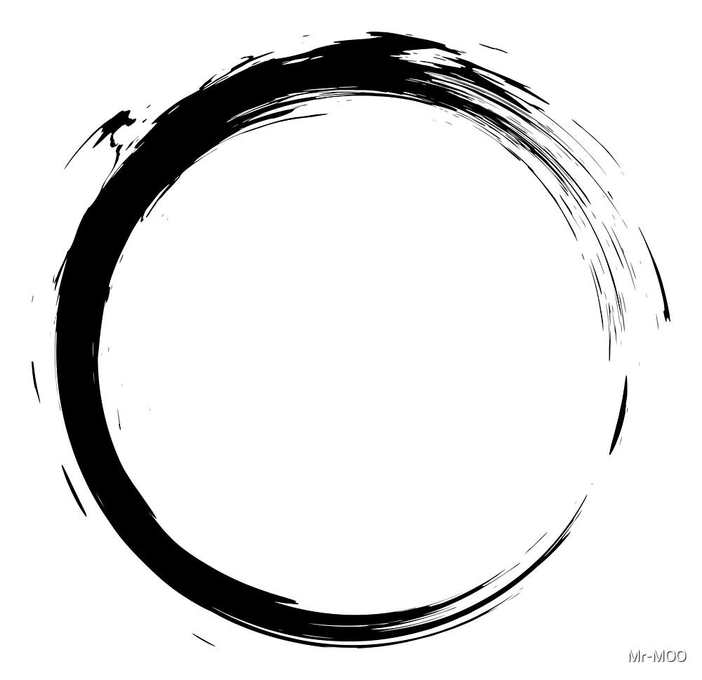 Black Ink Splatter Ring by Mr-M00