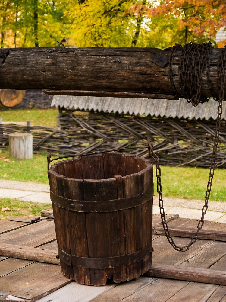 The Wooden Bucket by Rae Tucker