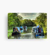Narrowboat Classix - Foxton Canvas Print