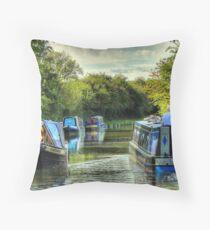 Narrowboat Classix - Foxton Throw Pillow