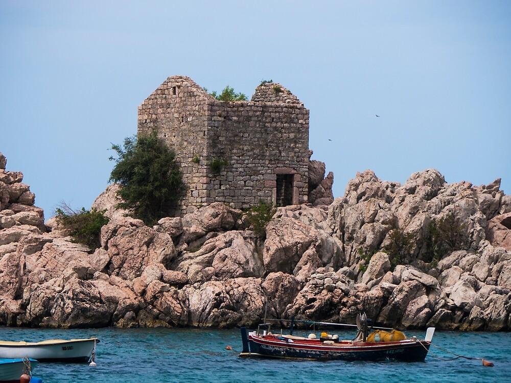 Island Ruins by Rae Tucker