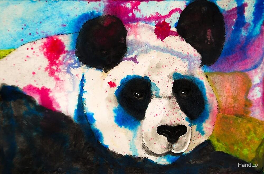 Panda by HandLu
